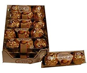 Ferrero Rocher 3 Pack Case Of 12 Candy And