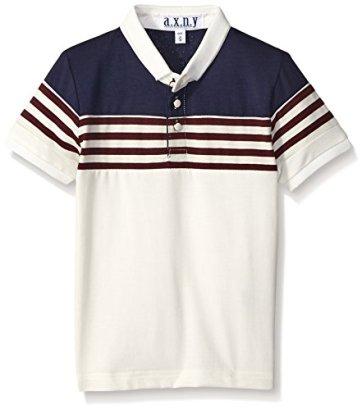 axny-Boys-Stripe-Color-Block-Polo