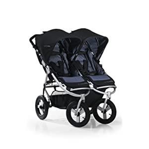 Bumbleride Indie Twin Stroller, Lava