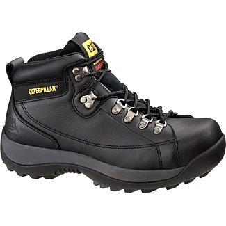 Caterpillar Menu0026#39;s Hydraulic Mid Cut Steel Toe BootBlack12 M US | AuthenticBoots.Com | Menu0026#39;s ...