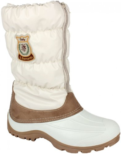 Original San Bernardo After Ski Winterstiefel Winterboot Fashion Style beige Groesse-37