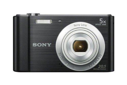 Sony W800/B 20.1 MP Digital Camera (Black)