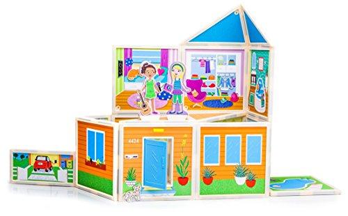 Malia's House Magnetic Dollhouse