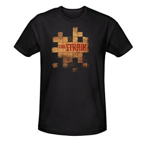 The-Strain-Unisex-Tiles-T-Shirt-Black-XXL