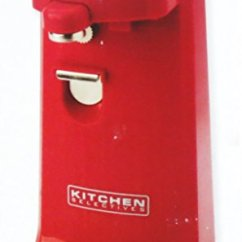 European Kitchen Gadgets Remodeling Costs Selectives Colors Red Electric Can Opener ...