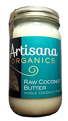 Organic Raw Coconut Butter 16 oz (454 grams) Jar