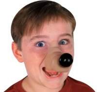 Rubies Rufus Dog Nose Costume Accessory 082686007238 ...