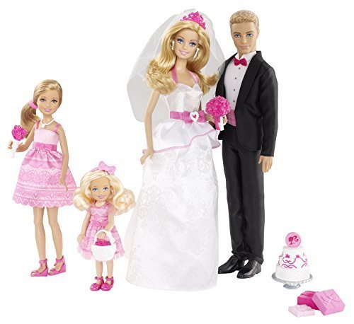 Barbie and Ken Wedding Set by Barbie