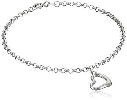 14k-Gold-Heart-Dangle-Charm-Bracelet-7