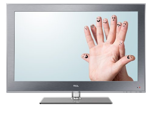 TCL L32E3110C 81 cm (32 Zoll) LED-Backlight-Fernseher, Energieeffizienzklasse A+ (HD-Ready, DVB-C/-T, 2x HDMI, CI+, USB 2.0, Hotelmodus) silber
