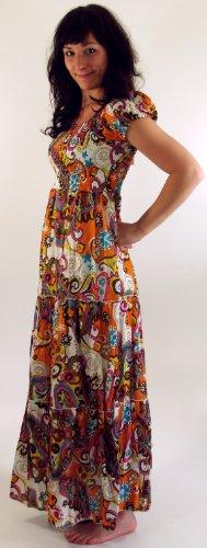 Sommerkleid Hippie-Girl in 3 Farben / Lange Kleider