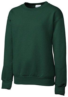 Clique-Basic-Big-Boys-Comfortable-Fleece-Sweatshirt-Dark-Green-X-Large