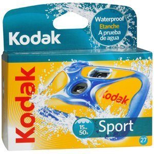 20-Pack Kodak Sport 27 Exp 50 feet Waterproof Camera