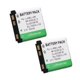 SANCC-2-Pack-Battery-for-Fujifilm-NP-45-NP-45A-NP-45B-NP-45S-and-Fujifilm-FinePix-XP20-XP30-XP50-XP60-T500-T510-T550-JX520-JX550-JX700-JX710-JZ700-Fuji-Z-J-Series-Digital-Cameras