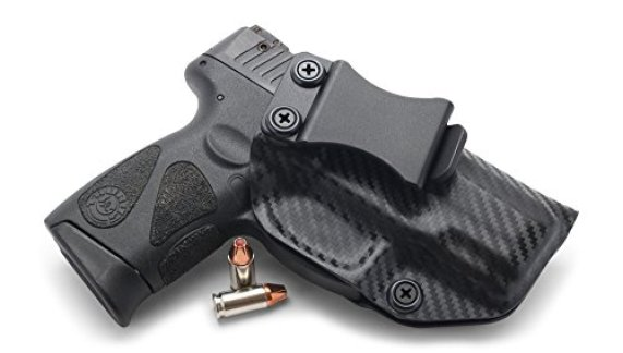 Concealment Express IWB KYDEX Holster fits: Taurus 111/140 Millennium G2 - US Made - Inside Waistband Holster - Adj. Cant & Retention (Carbon Fiber Black - Right Hand)
