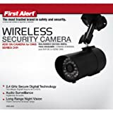 First Alert DWC-400 Digital Wireless Indoor and Outdoor Security Camera