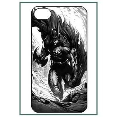 Cool Black and White Batman cartoon DC comic iphone 4/4s case
