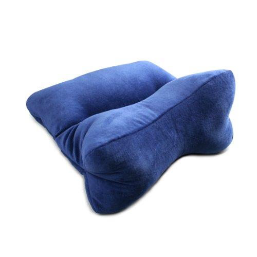 DogBones Ortho Bone Cervical Pillow by Original Bones Blue New