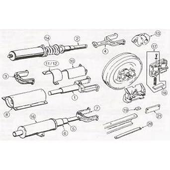 Amazon.com: 129162A1 New Case Dozer 650G 650H 750H 850D