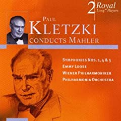Paul Kletzki Conducts Mahler Symphones 1 4 5 / Emmy Loose (2 CDs)