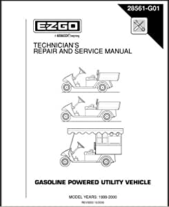 Amazon.com : EZGO 28561G01 1999-2000 Technician's Repair
