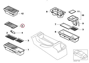 Amazon.com: BMW Genuine Storing Partition Mounting Parts