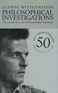 """Cover of """"Philosophical Investigations: T..."""