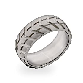 Tire Ring - A Great Men's Gift Item