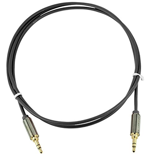 Mediabridge 3.5mm Male To Male Stereo Audio Cable (8 Feet