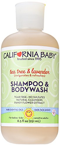 California Baby Tea Tree and Lavender Shampoo & Bodywash – 8.5 oz