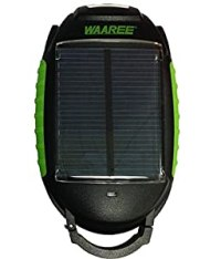 Waaree Solar Torch with Reading Lamp and Power Bank for ...