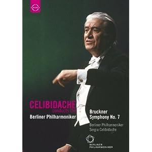 ブルックナー: 交響曲第7番ホ長調WAB.107 (Bruckner : Symphony No.7 / Berliner Philharmoniker, Sergiu Celibidache) [DVD] [輸入盤・日本語解説書付]