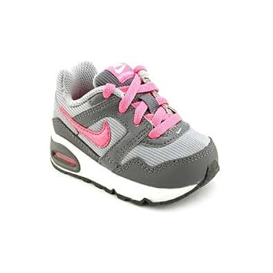 Nike Air Max Navigate TD Infant Baby Girls Gray Sneakers