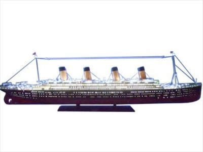 Remote-Control-RMS-Titanic-72-Limited-wLED-Lights-Wooden-Cruise-Liner-Ready-To-Run-Model-Ship-Masterpiece-Famous-Cruise-Liners-Sinking-Of-1912-Titainc-Cruise-Ship-Brand-New-LED-Lighted-Model-Cruise-Sh