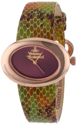 s vv014rs ellipse swiss quartz rose gold bezel watch,vivienne westwood women,video review,(VIDEO Review) Vivienne Westwood Women's VV014RS Ellipse Swiss Quartz Rose Gold Bezel Watch,