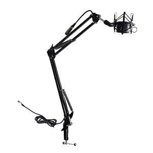 Amazon.com: OKEBA Telescoping Microphone Boom Arm Stand