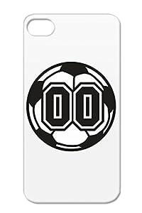 Amazon.com: White 00 Soccer Raster 2 Color TAS Cover Case