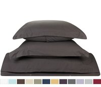 Bed-In-A-Bag 9 Piece Complete Bed Sheet Set  King Gray ...