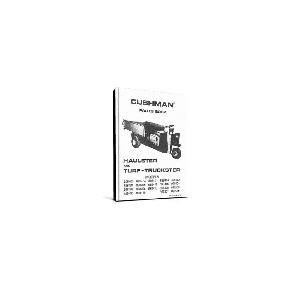 EZGO 822305 1970 1971 Parts Manual for Cushman Gas