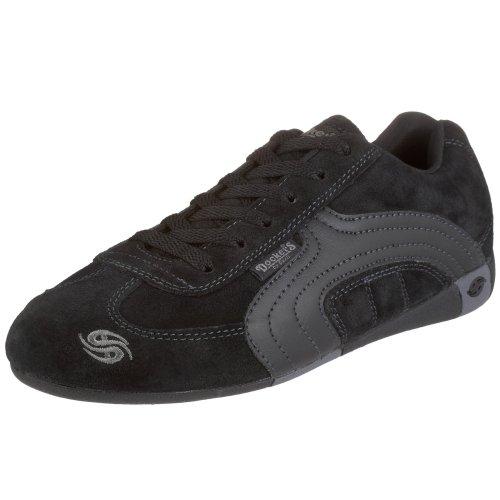 Dockers 246200, Unisex - Erwachsene Sneaker, schwarz, (schwarz 1), EU 39