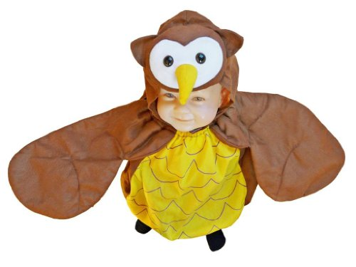 Fantasy World Girl's F68 Owl Costume 2t