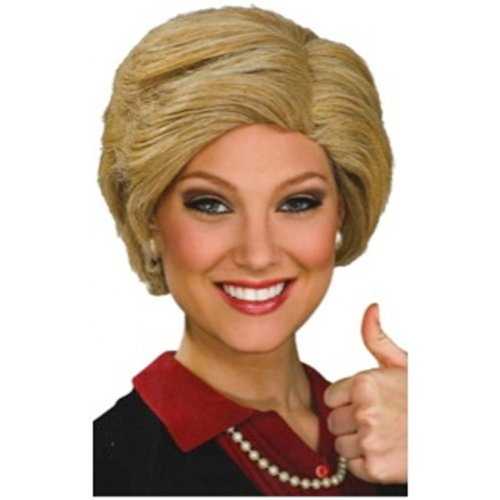 Hillary Clinton Wig Costume Accessory