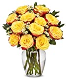 From You Flowers - Festive Rose Bouquet (Free Vase Included)