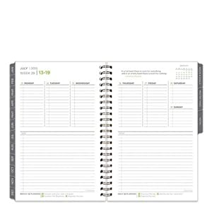 Franklin Covey Classic 5 Choices Wire-bound Weekly Day