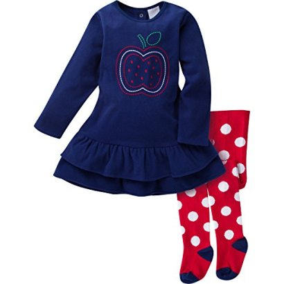 Gerber-Girls-Baby-and-Little-2-Piece-Embroidered-Micro-Fleece-Dress-with-Tights
