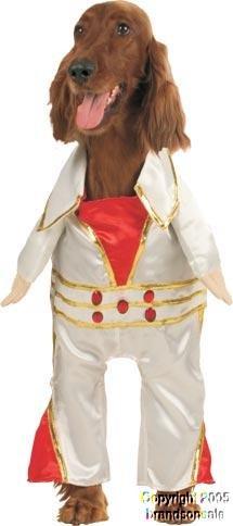Pet King Elvis Dog Costume (Size: X-Small)