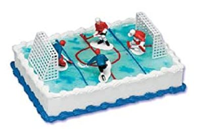 Amazon Hockey Cake Toppers Home Kitchen