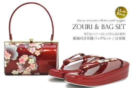 草履バッグセット 桜