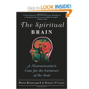 "Facsimile of ""The Spiritual Brain"" by Mario Beauregard and Denyse O'Leary"