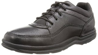 Rockport Men's World Tour Classic Walking Shoe,Black,9.5 M US